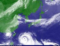 台風9号:沖縄本島地方に暴風警報 学校は臨時休校