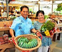 テーマは「農家のお裾分け」 野菜直売、楽しく10年 沖縄・宜野湾市のハッピーモア市場