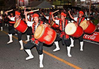 2015年のうるま市エイサーまつり前夜祭