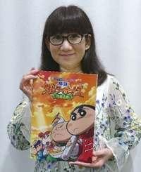 「クレヨンしんちゃん」矢島晶子さん、新作映画の魅力を語る テーマは「正義」だけど…?