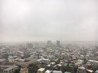 うるま市に大雨洪水警報 沖縄気象台
