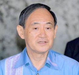 菅官房長官(資料写真)