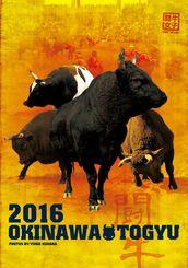 初めて作った闘牛カレンダー2016