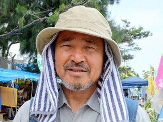 沖縄平和運動センターの山城博治議長