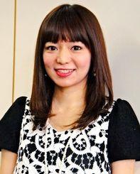 「DAIBA MUSIC FACTORY」でグランプリを受賞した瀬良垣さやかさん=27日、沖縄タイムス社