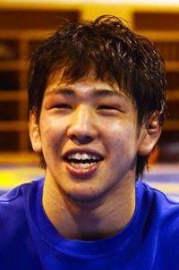 屋比久翔平選手3連覇 愛媛国体レスリング