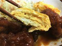 那覇市首里鳥堀の「ななほし食堂」でチキンケチャップ定食を食べたの巻 運転手メシ(259)