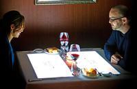 かりゆしアーバンがテーブルマッピングディナー 特別な記念日を演出