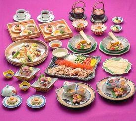 季節ごとの料理が楽しめる「女子会プラン」