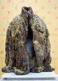 ハンセン病の苦悩を表現 県芸術祭美術部門 伊志嶺達雄さんに知事賞
