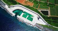 マグロ、ソデイカの好漁場振興へ期待 北大東島に新たな「掘り込み工法」漁港、2月2日に開港式