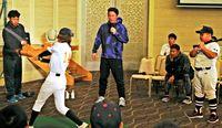 プロ野球のすごさ紹介/ヤクルト比屋根 元巨人の元木・高橋さん/那覇でイベント