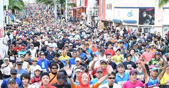 (資料写真)NAHAマラソン