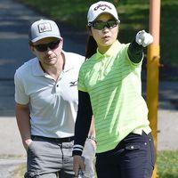 ダイキン女子ゴルフ:復調の比嘉真美子、地元Vへ照準