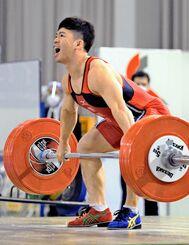リオデジャネイロ五輪の悔しさを晴らそうと、東京でのメダル獲得を誓う男子61キロ級の糸数陽一=2020年12月、新潟県のニュー・グリンピア津南体育館