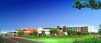 プロポーザルコンペ時の新八重山病院イメージ図