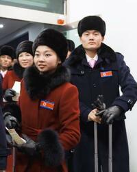 北朝鮮全選手が韓国入り 平昌五輪開幕まで1週間