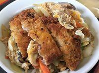 今日もガッツリ!運転手メシ(299)沖縄市安慶田の「栄食堂」でカツ丼を食べたの巻