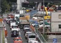 東京五輪:道路整備の遅れに懸念 時差出勤・テレワークも未知数【深掘り】