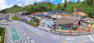 トリップアドバイザーの「旅好きが選ぶ!日本人に人気の道の駅ランキング2020」で全国1位に選ばれた道の駅「許田」(トリップアドバイザー提供)