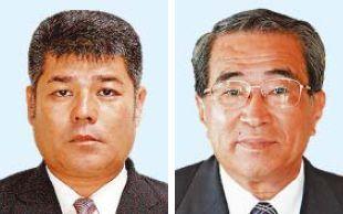 (左から)久田浩也氏、喜屋武治樹氏
