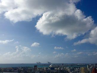 台風が遠ざかり、穏やかな風の残る1日でした。