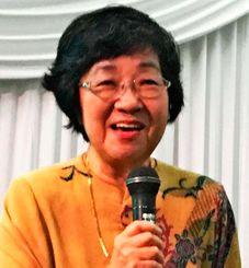 沖縄の食文化の独自性と魅力を語った安次富順子さん