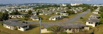 31日に返還される米軍キャンプ瑞慶覧・西普天間住宅地区