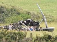 炎上したヘリ残骸、米軍が撮影 撤去の動きみられず