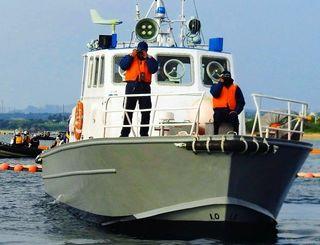 (資料写真)マリンセキュリティー社の警備艇
