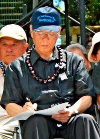 沖縄県民大会 超党派にこだわった翁長知事