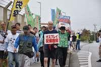 「基地はいらない」建設反対の思い共有 全国から抗議に参加 名護の米軍基地ゲート前