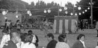 多良間島夏祭り踊りの輪広がる/婦人・青年会が初開催