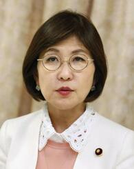自民党の稲田朋美幹事長代行