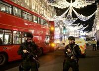 ロンドン、銃声通報でパニック 繁華街オックスフォードサーカス