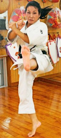 武と舞 両方の高み目指す 探求の結果は「ケーシカジ」の動き
