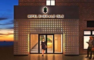 ホテルエメラルドアイル石垣島のエントランス予定図