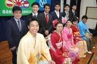 竹富町、一足早く成人式 「島の誇り」11人を祝福