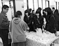 修学旅行でアイス販売/読谷 葛飾商高生が開発