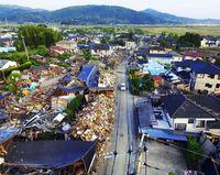 [熊本地震2年 復興への道]/再建の歩み 集落内で差/新築か仮設か 住民苦慮/被災地・益城町ルポ