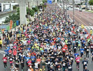 2017年のNAHAマラソン