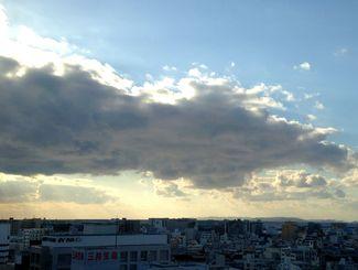 今日は晴れで湿度が低く過ごしやすかったです。日差しは強かったですね。