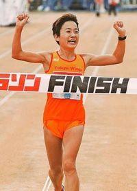 NAHAマラソン:前人未到 廣瀬 初の女子4連覇