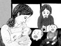 [また明日](177)/マスコの章(12)/群ようこ・作/丹下京子・画