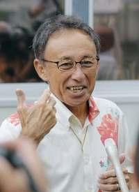 【沖縄県知事選】初当選を果たした玉城デニーさん
