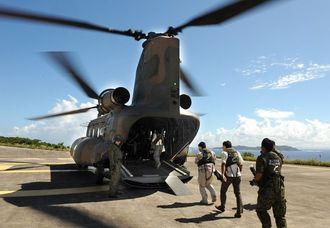 【資料写真】自衛隊の緊急患者空輸(2008年)