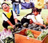 野菜の地産地消PR/名護で香祭 飲食25店集う