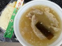 浦添市のパーラー幸でソーキ汁と天ぷらを食べたの巻 運転手メシ(199)