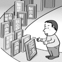 危険因子、時間重ね連鎖~メタボリックドミノ 沖縄県医師会編「命ぐすい耳ぐすい」(1071)