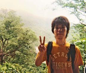通信制の高校を休学中の誠悟、18歳。父親の勧めで西表島を訪れた(提供)